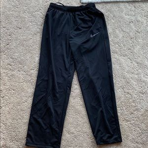 Men's large Nike dri fit pants